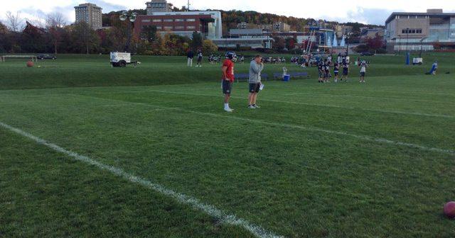 Wahid Nabi Making a Splash in Freshman Year on Ithaca College Football Team